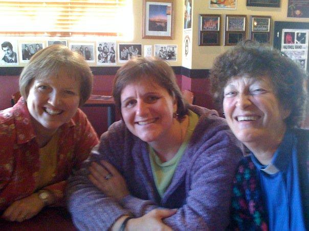 The Pastorettes - Dana, Elizabeth, Marina, (and missing Terry)