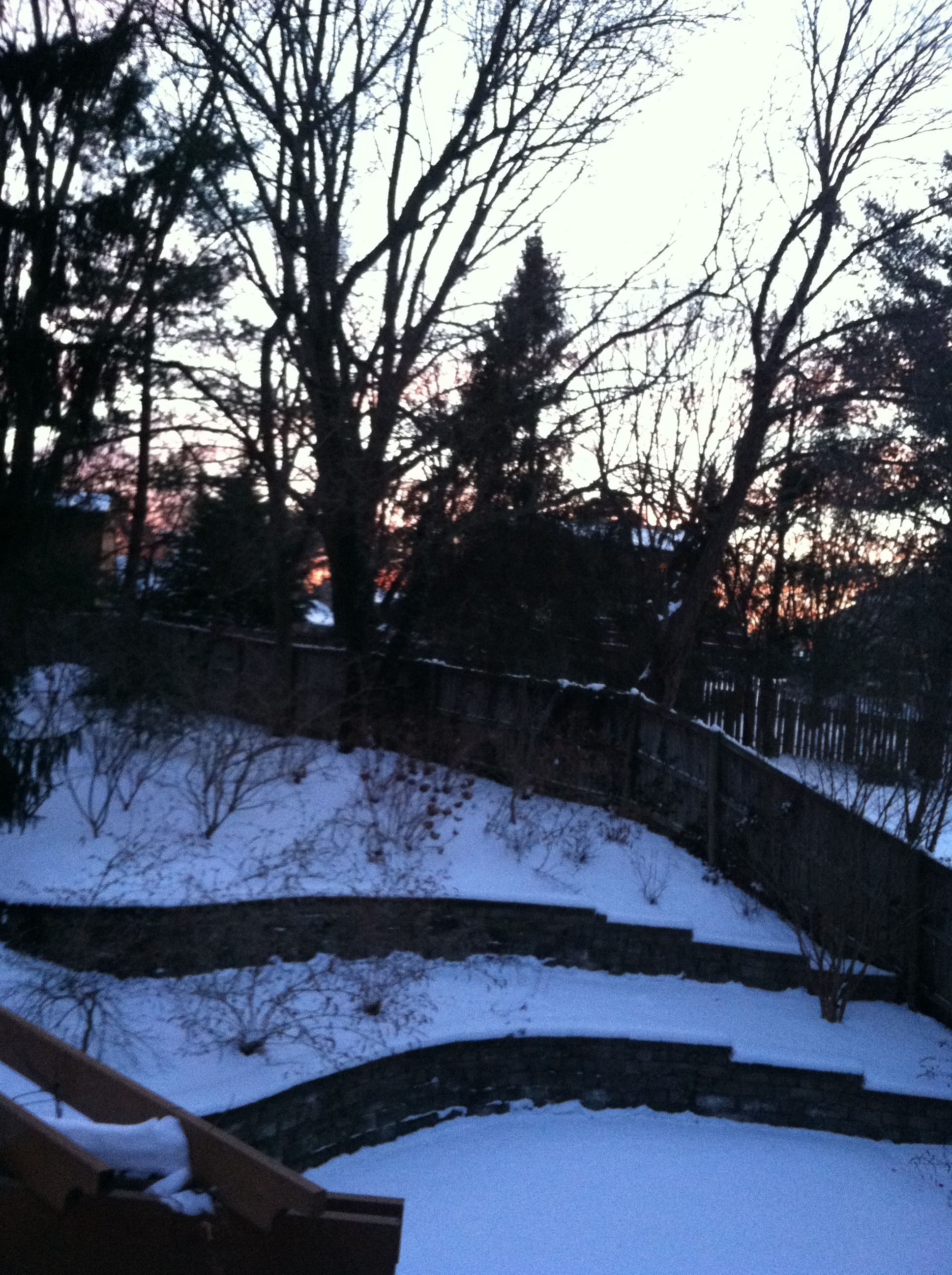 The cold night silent prayer