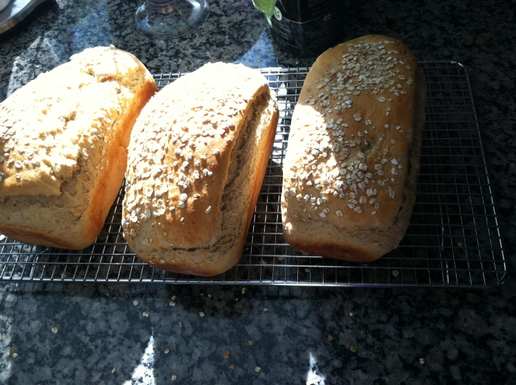 Oatmeal Bread. YUM.