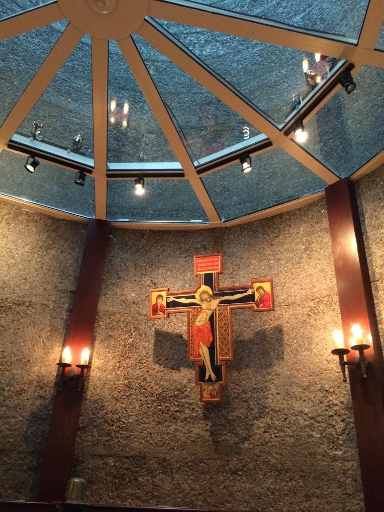 The silo chapel