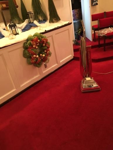 Holy vacuuming.