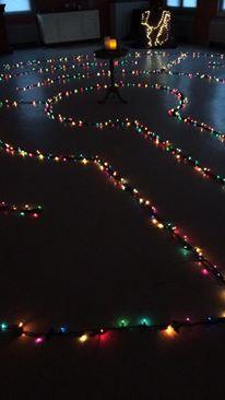 Christmas labyrinth