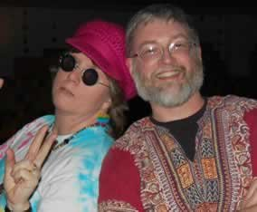 Groovy dude I married.