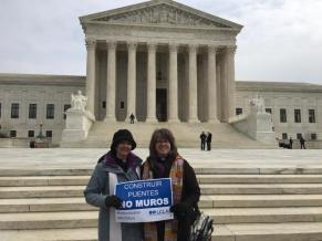 Protesting at the Supreme Court
